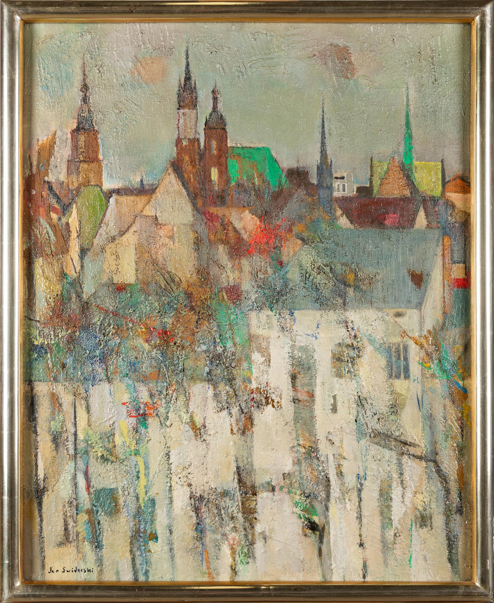Dachy i wieże Krakowa