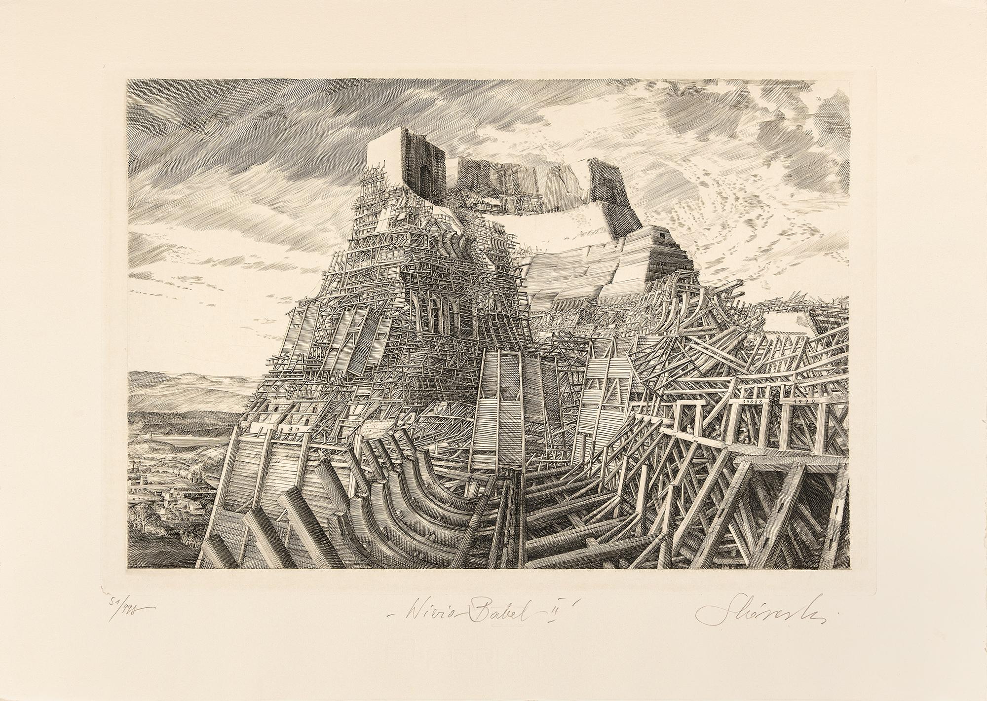 Wieża Babel II, 1990