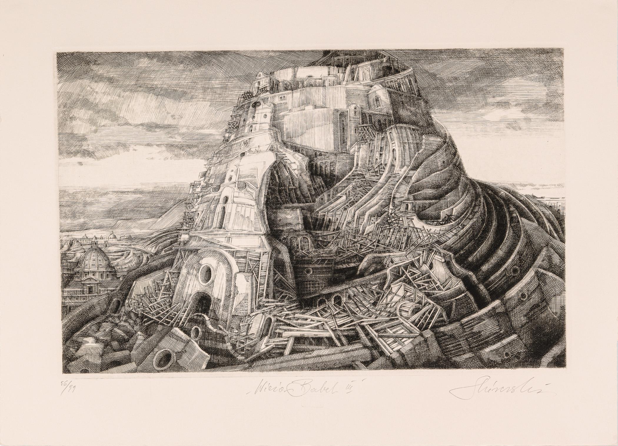Wieża Babel III, 1990