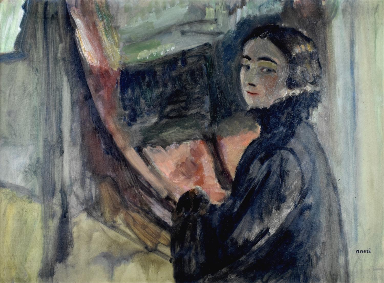 Portret własny, ok. 1910