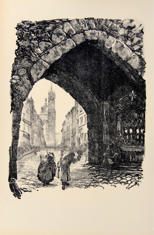 Ulica Floriańska, 1926