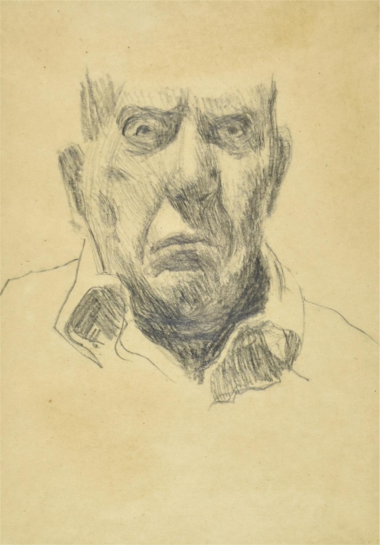 Autoportret z fragmentem głowy