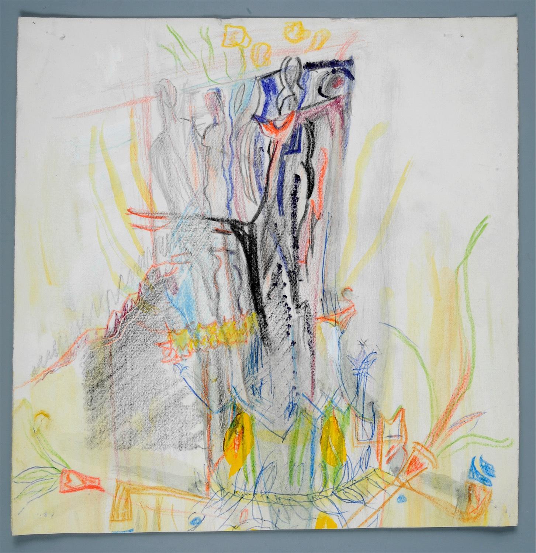 Kompozycja abstrakcyjna, ok. 1966