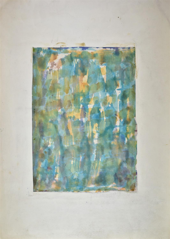 Kompozycja turkusowa, 19560