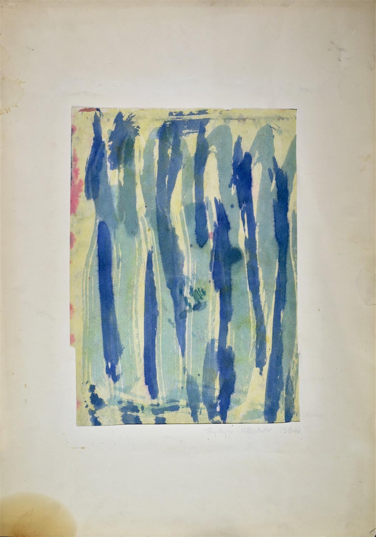Kompozycja zielono-niebieska, 1960