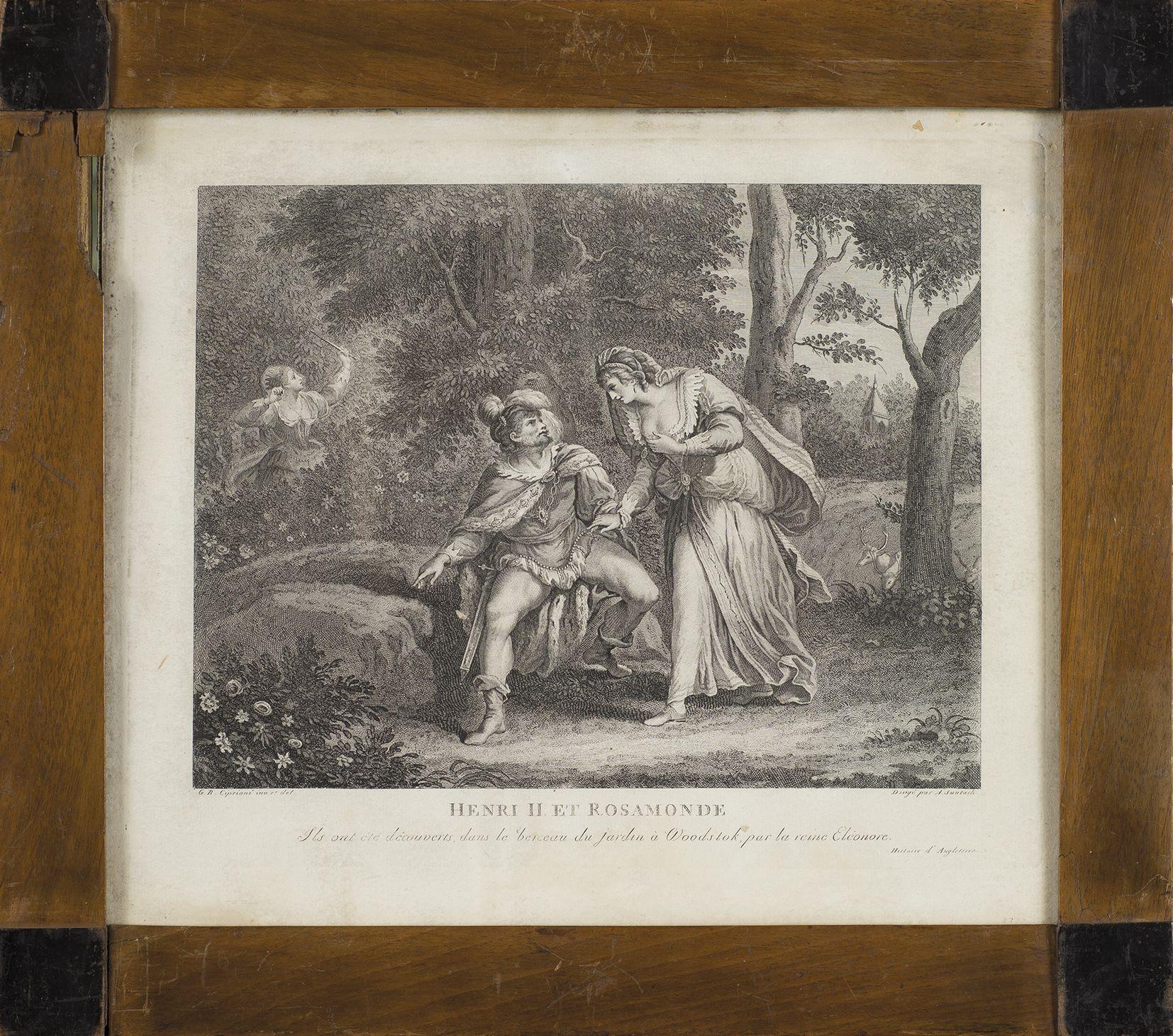 Henryk II i Rozamunda z cyklu Historia Anglii