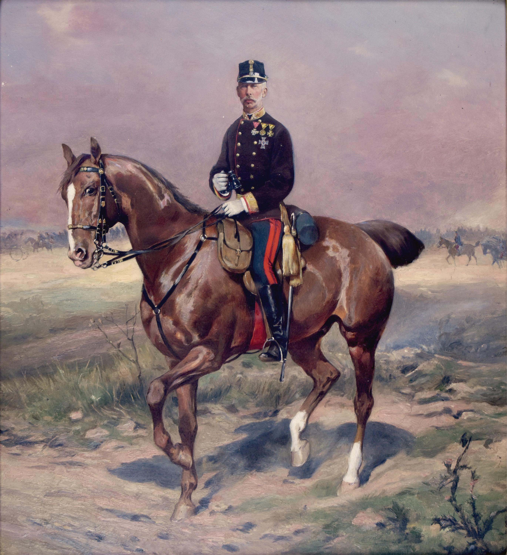 Oficer na koniu