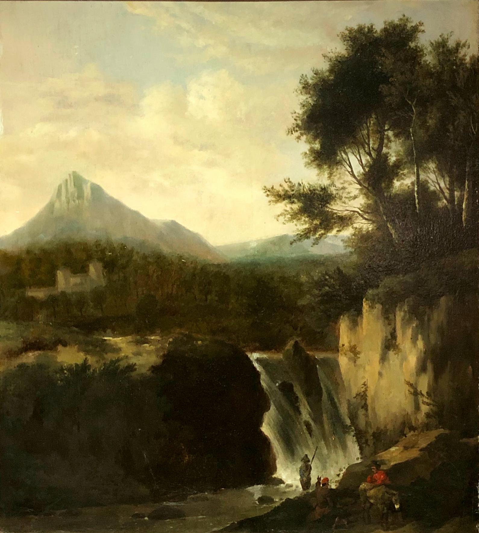 MALARZ NIEOKREŚLONY, XVIII wiek, Włochy lub Płd. Niemcy