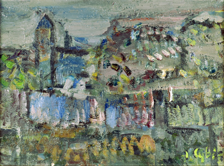 Ogrodzenie klasztoru św. Katarzyny – dzwonnica, 1952