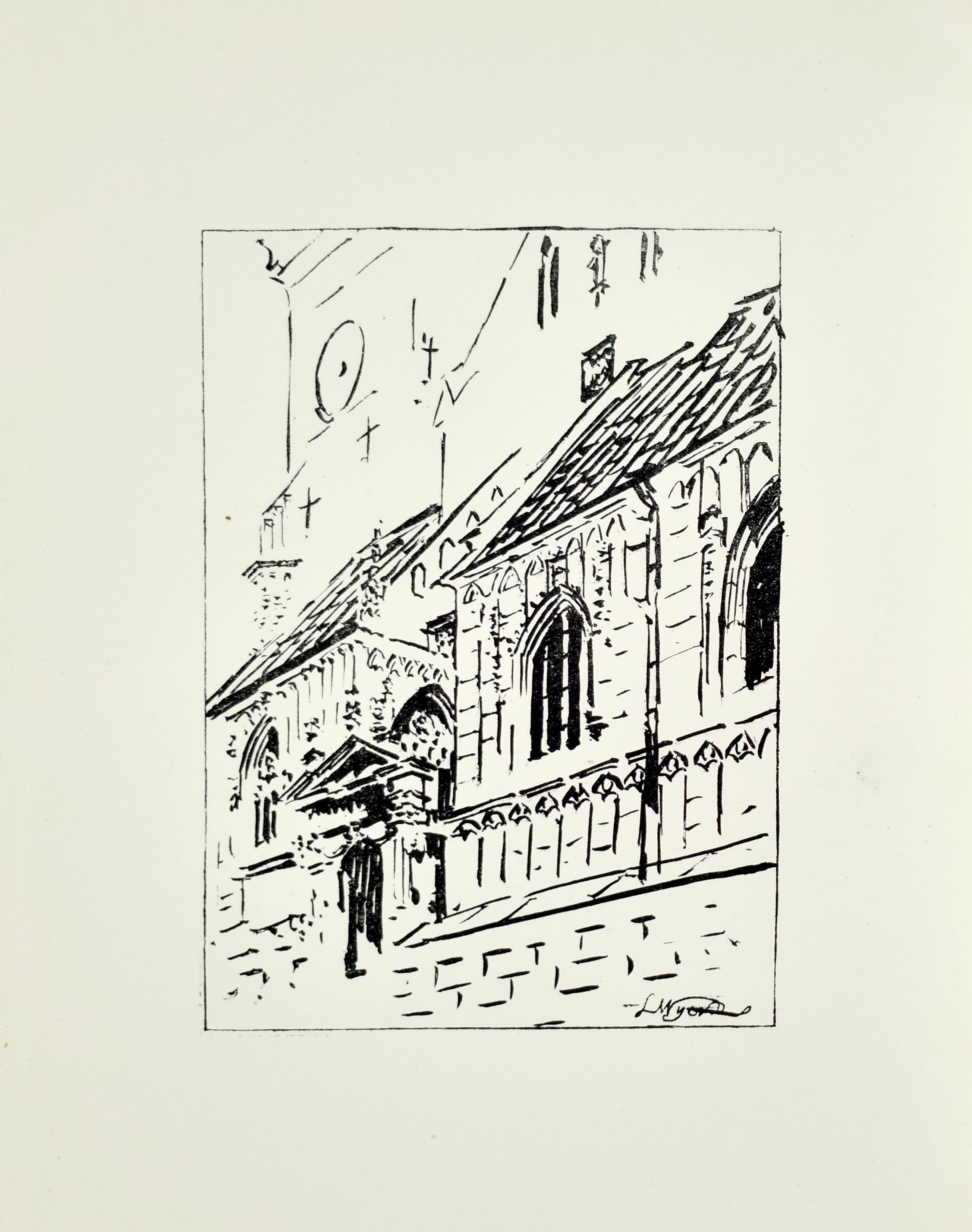 Wejście do katedry na Wawelu, 1922
