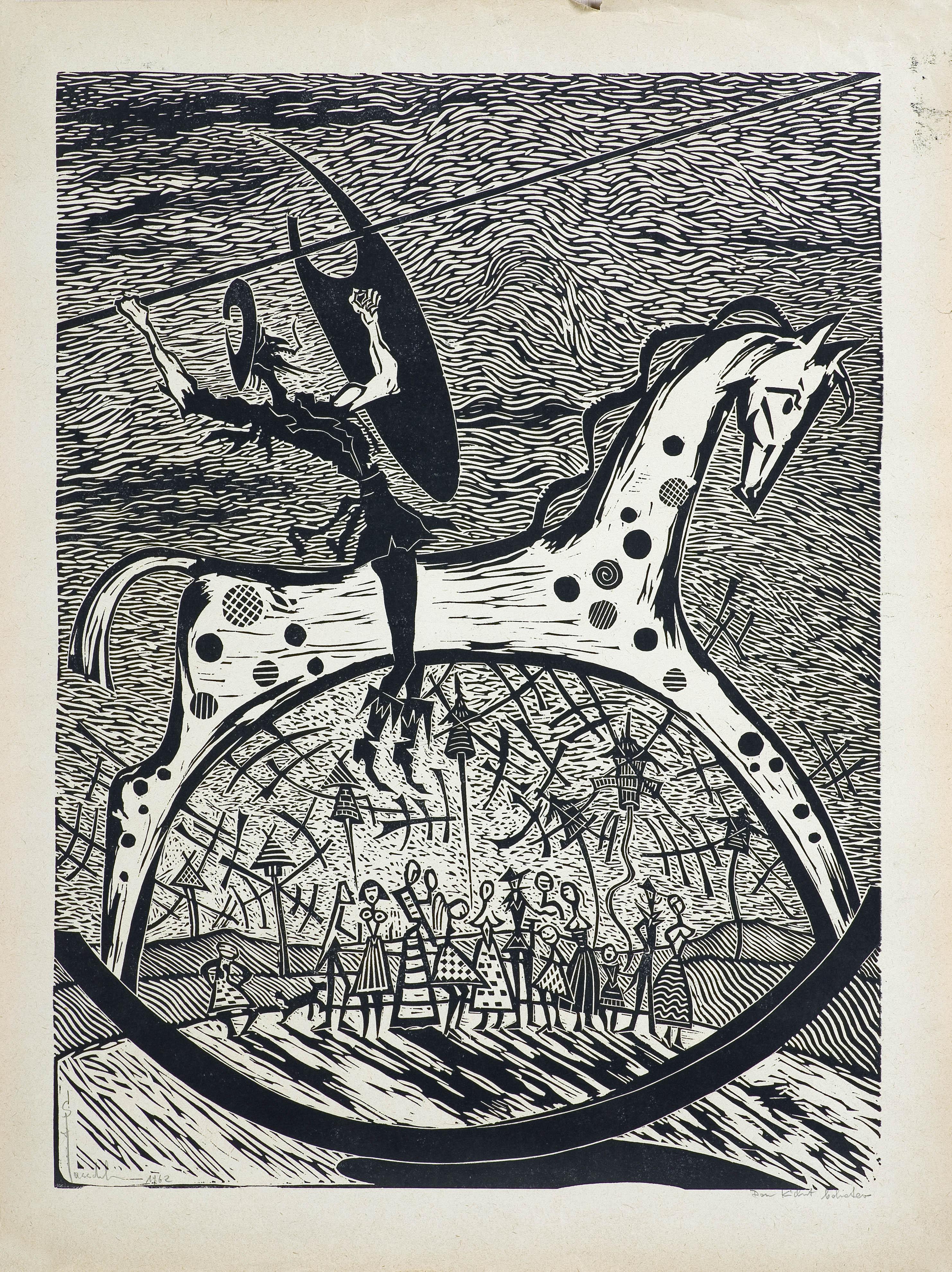 Don Kichot bohater, 1962