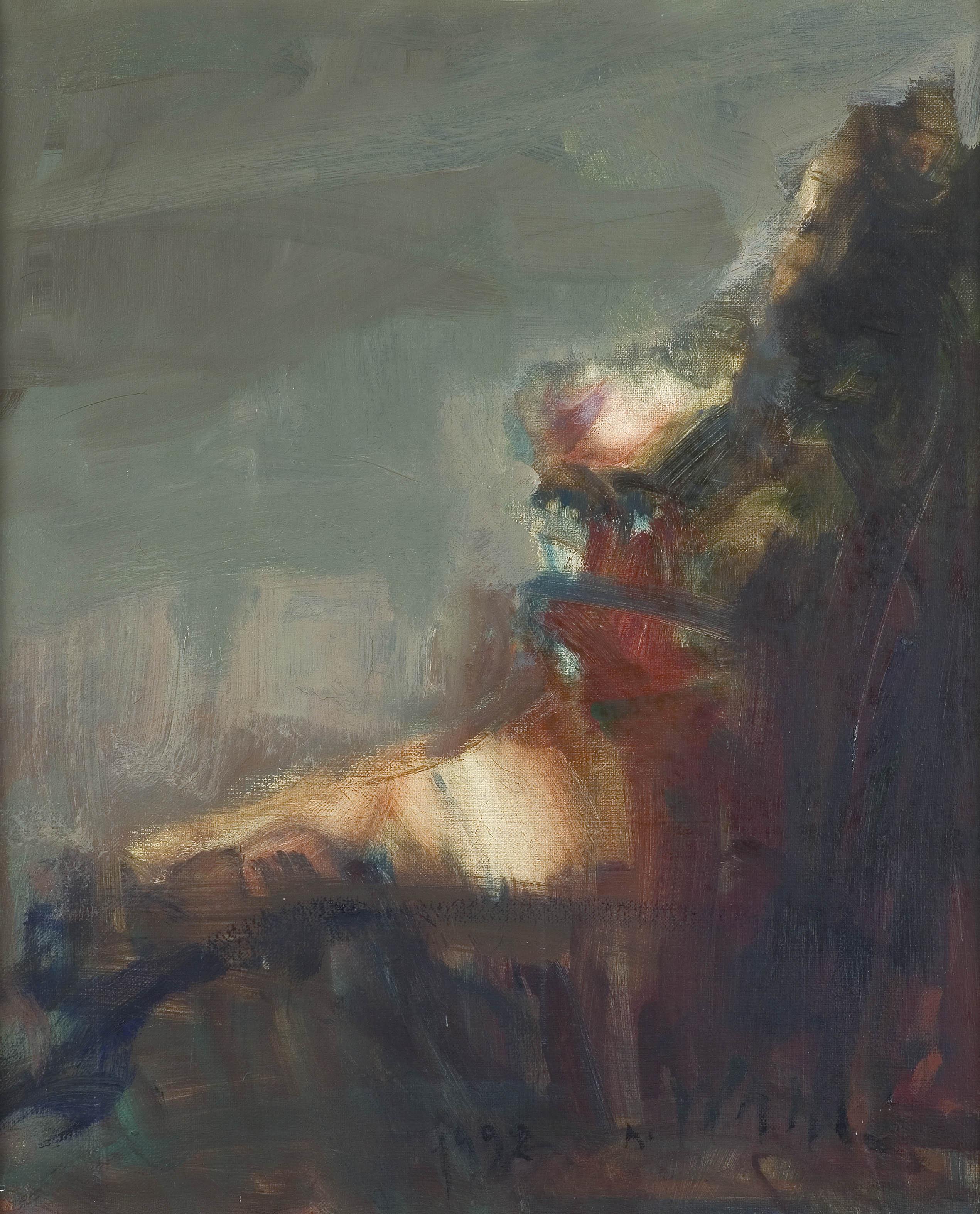 Siedząca kobieta, 1992