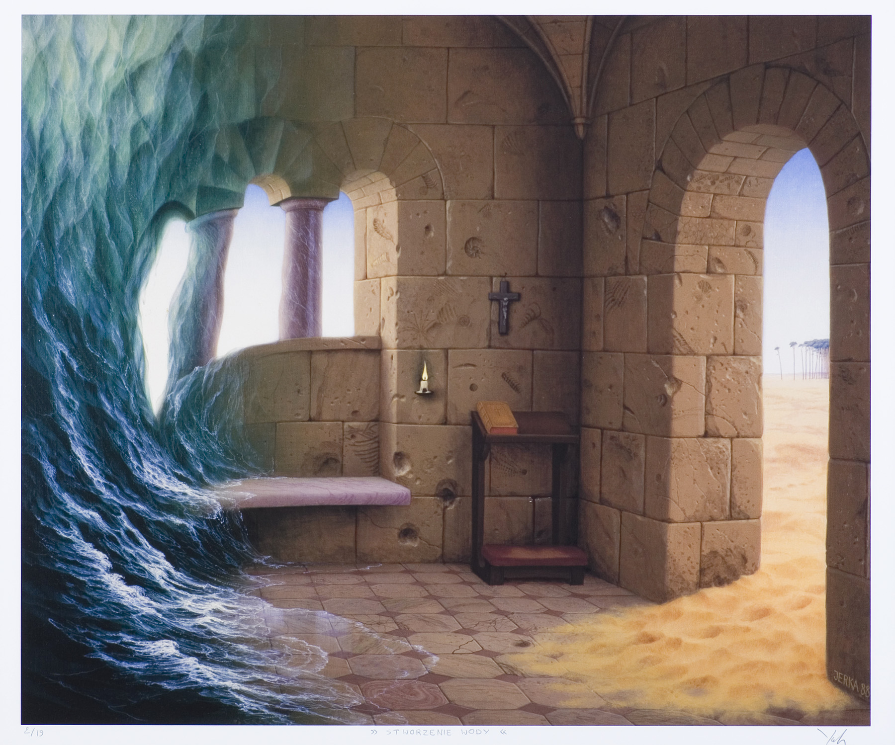 Stworzenie wody, 1988
