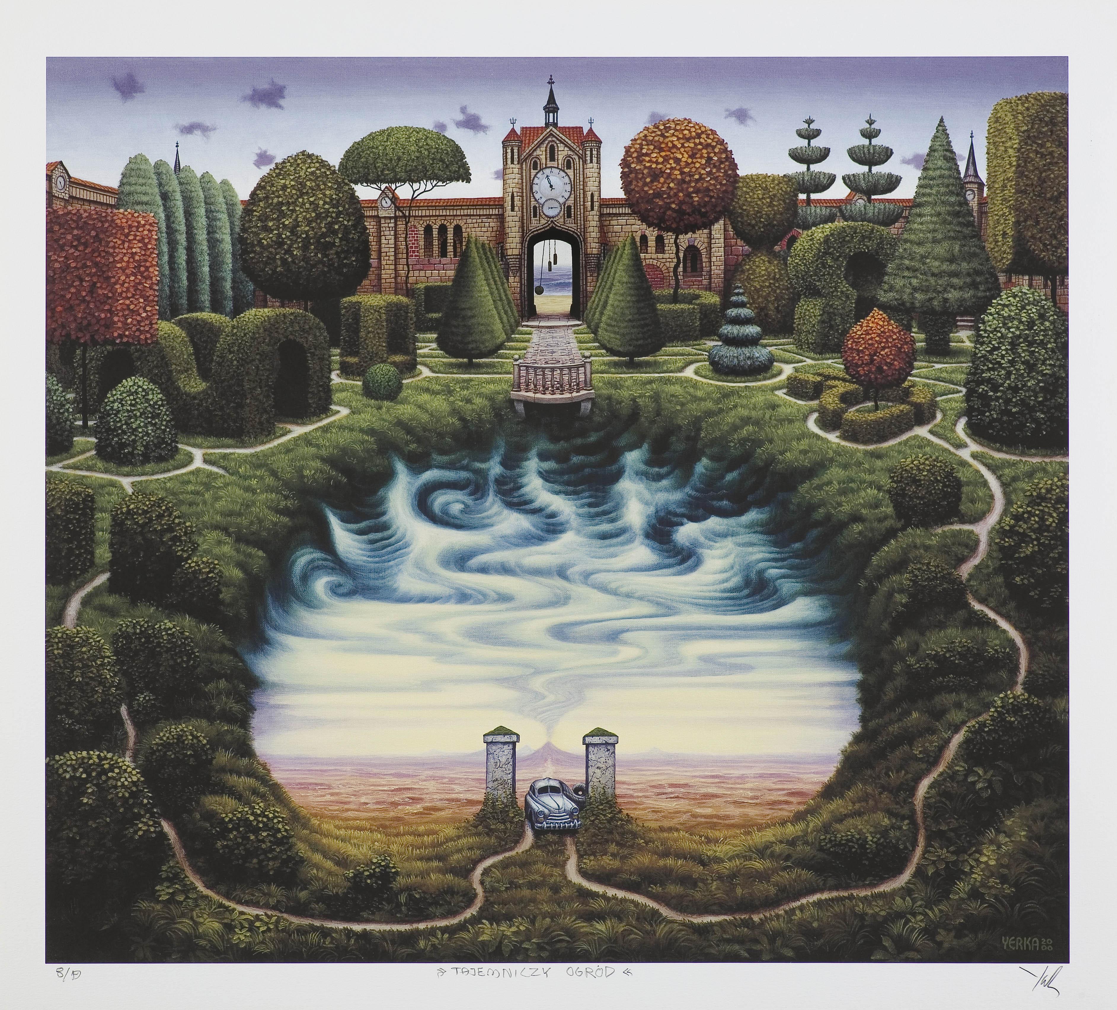 Tajemniczy ogród, 2000