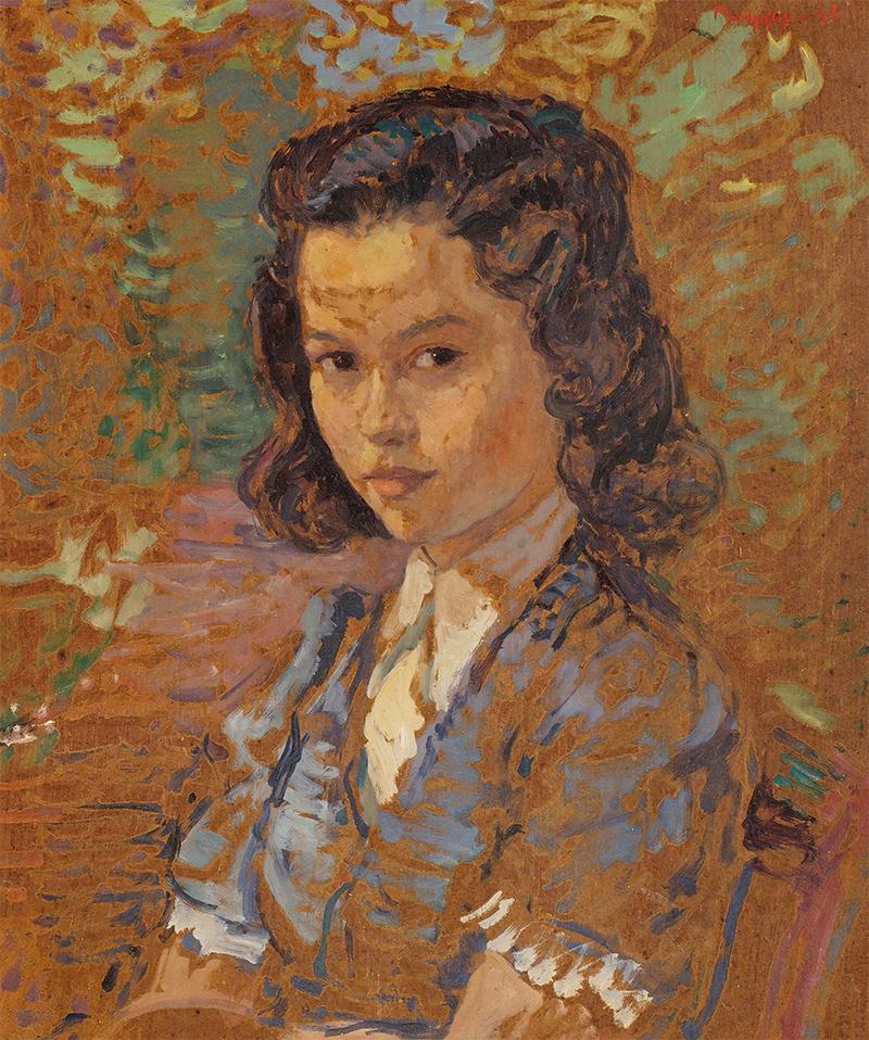 Portret młodej dziewczyny, 1935/ 1945? r