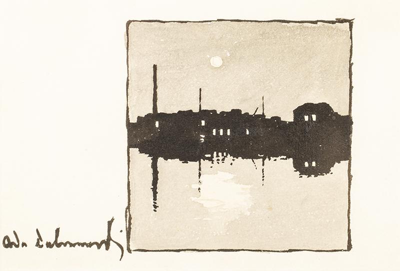 Nokturn. Miasto nad wodą
