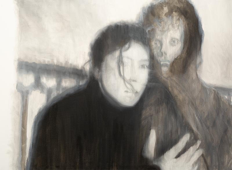 Bez tytułu (portret kobiety i mężczyzny)