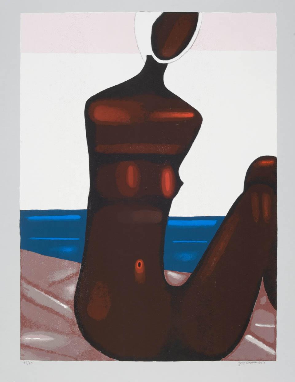 Murzynka na plaży, 1997