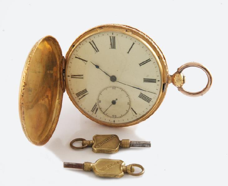 Zegarek kieszonkowy, męski + etui firmy