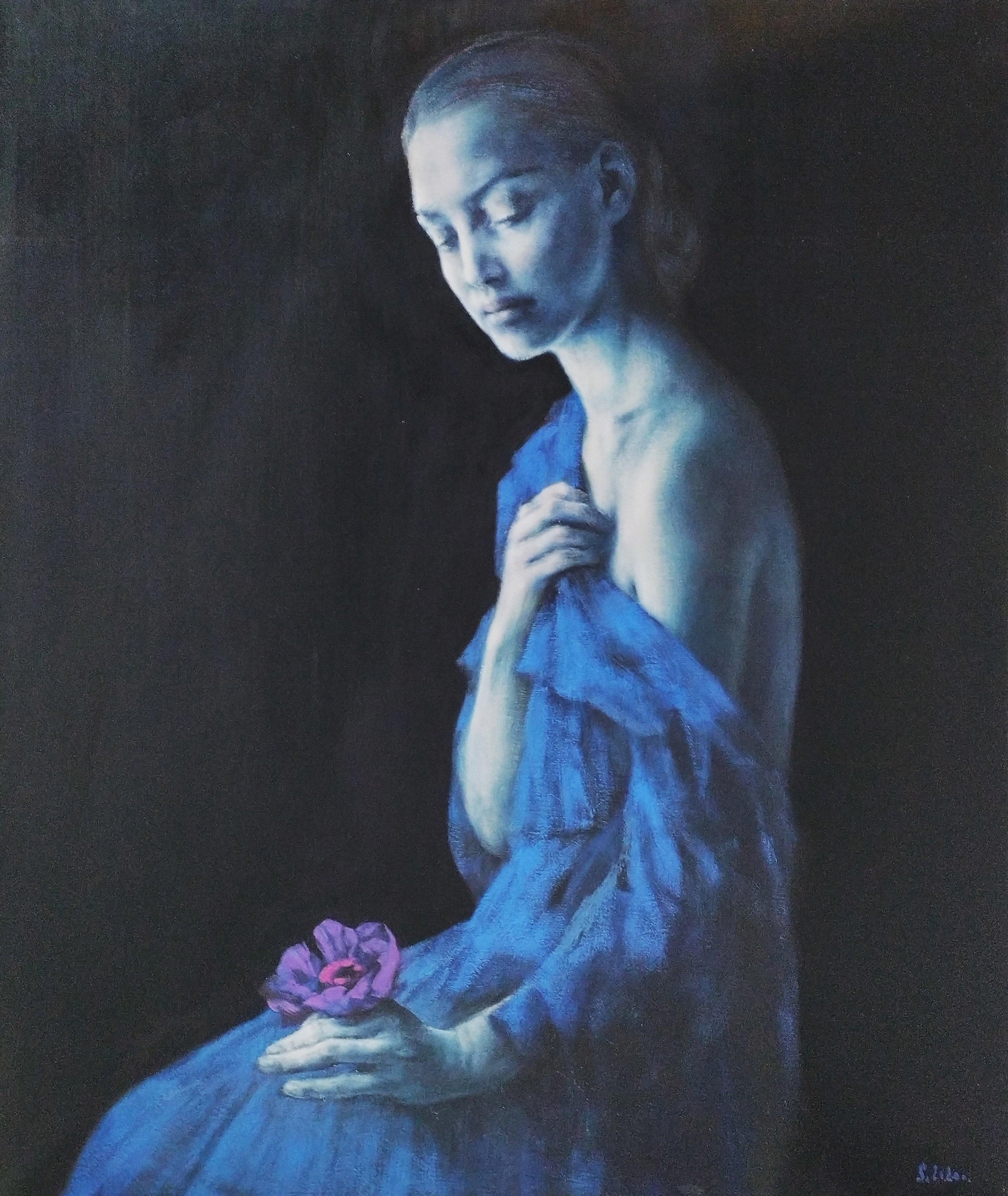 Dziewczyna z anemonem, 2020