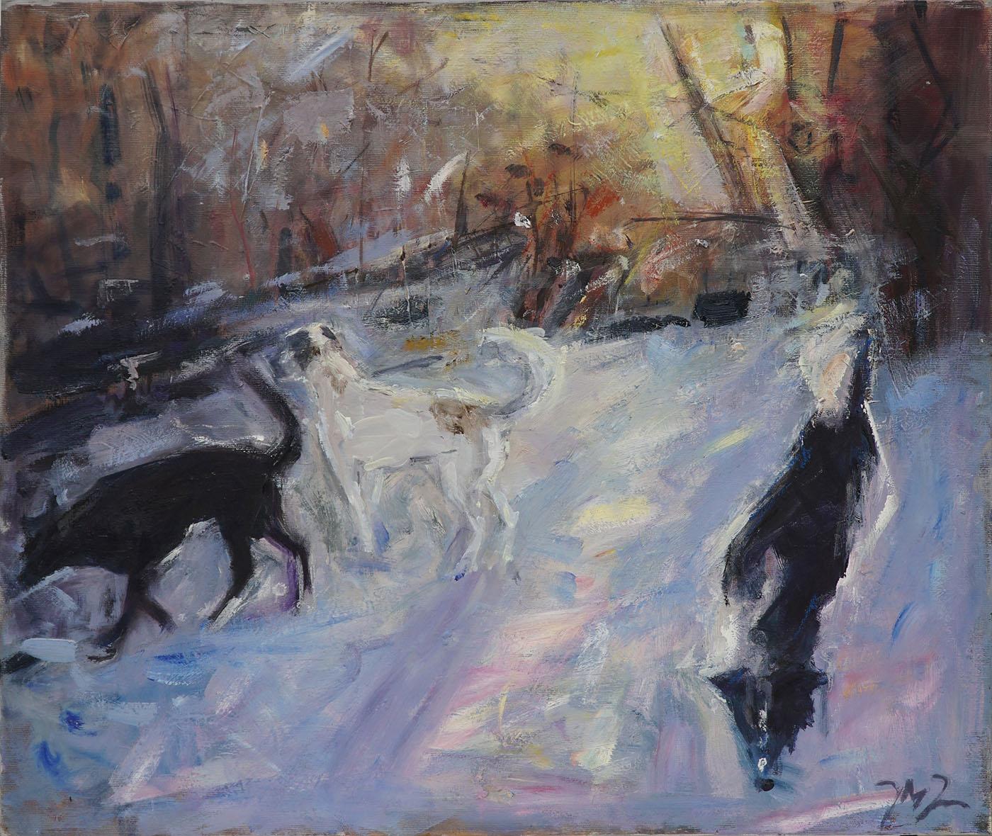 Psy na śniegu, 2015