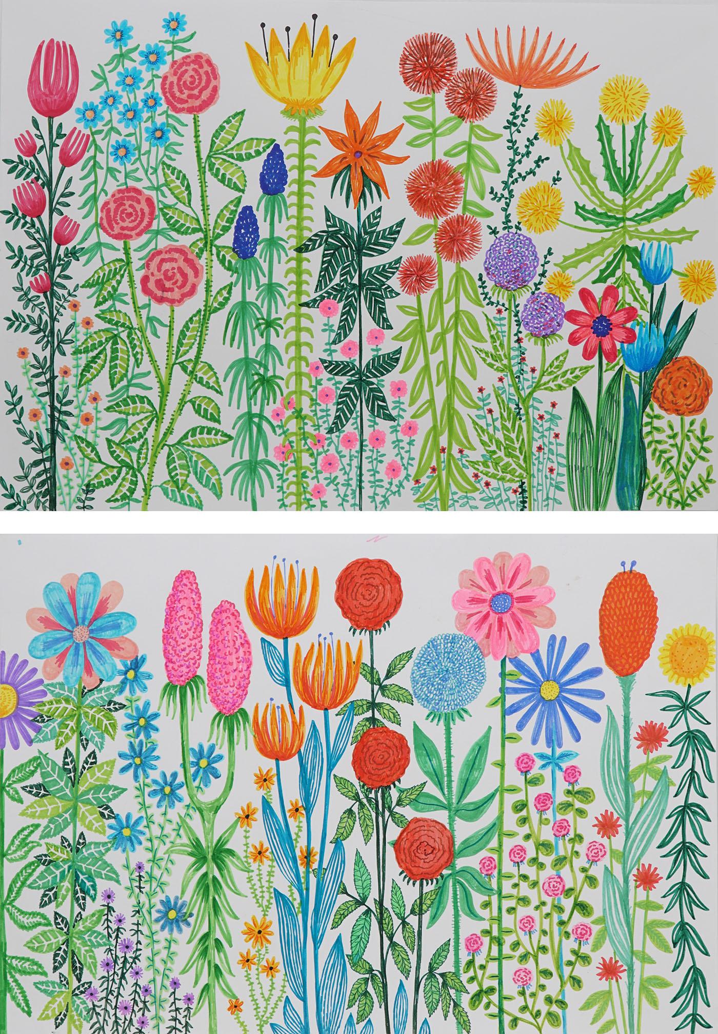 Kwiaty 1, Kwiaty 2, 2020