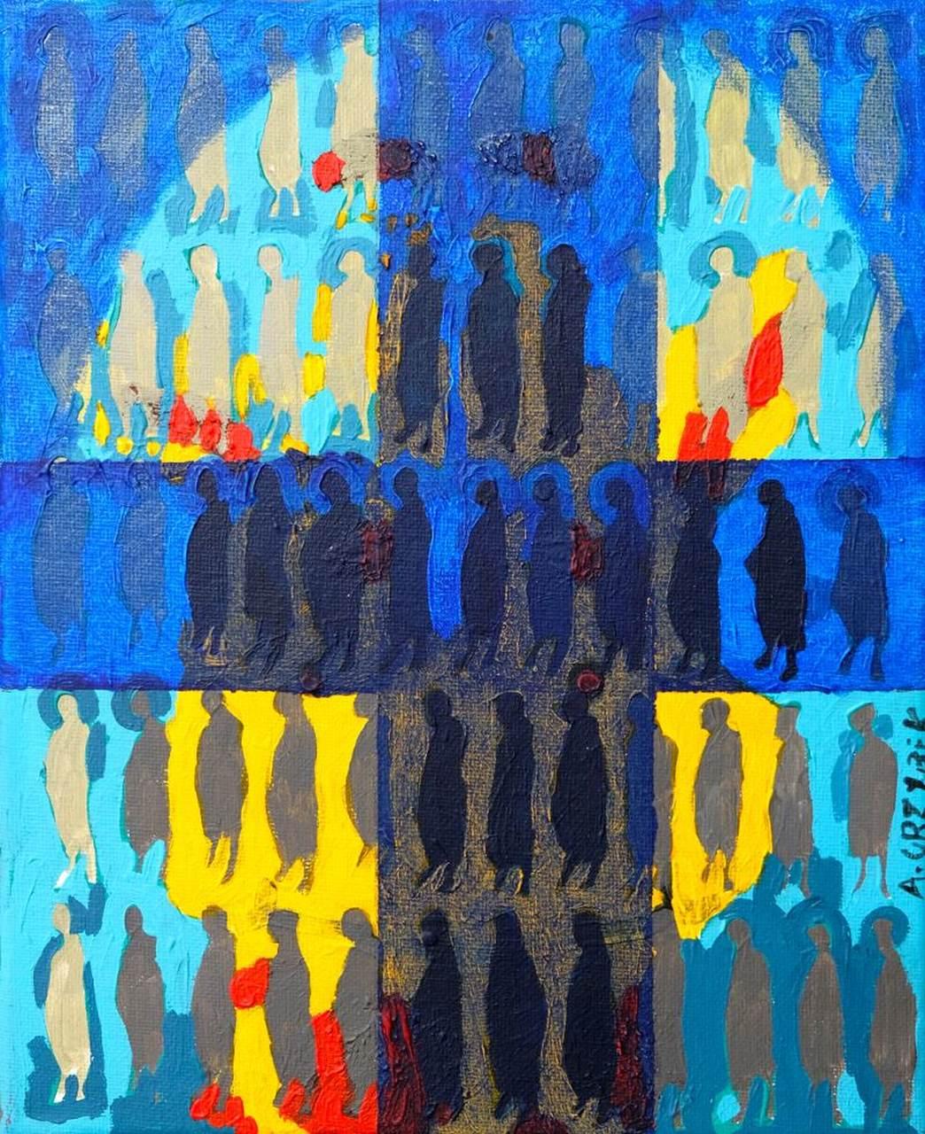 Witraż w kamienicy, 2005