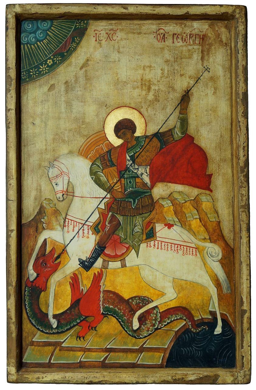 Ikona - św. Jerzy, 2020