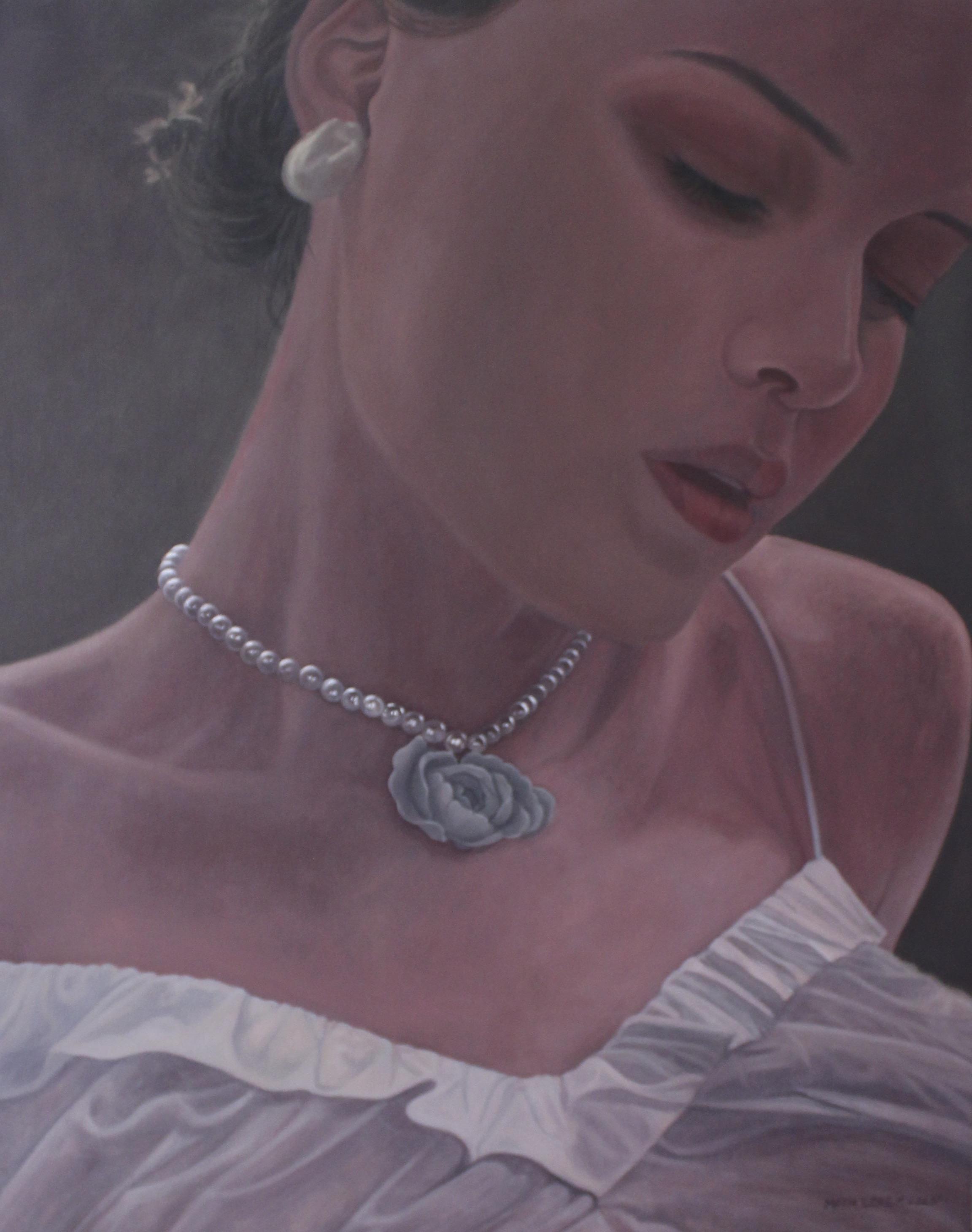 Ragazza con collana di perle ( Dziewczyna z perłami), 2020