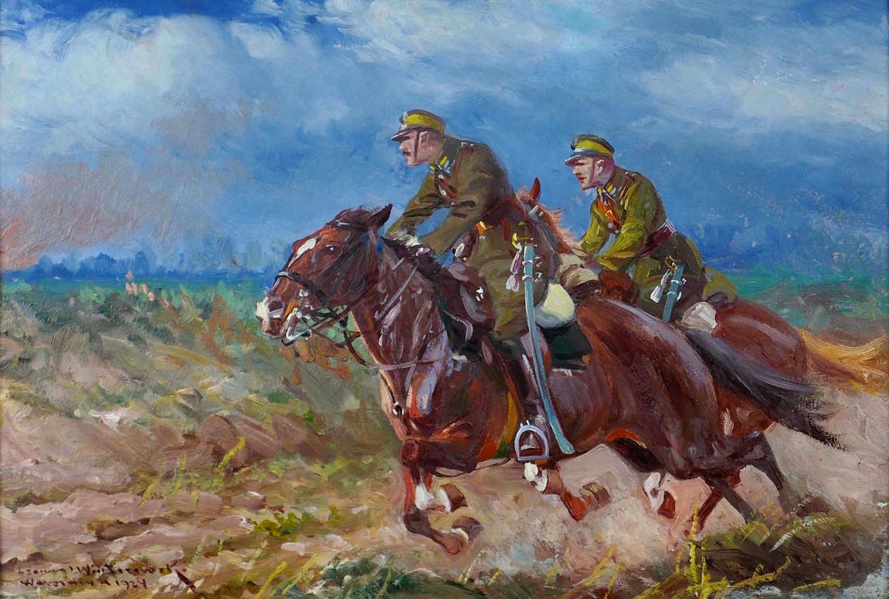 Na ratunek – ułani w galopie, 1924