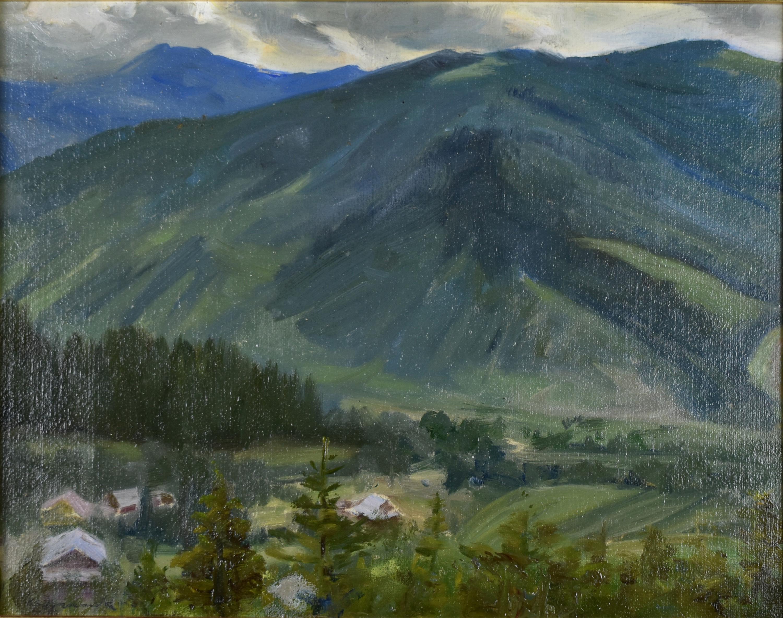 Pejzaż z Tatr, 1942