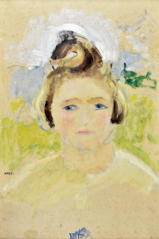 Portret dziewczynki – Hanusia, ok. 1926