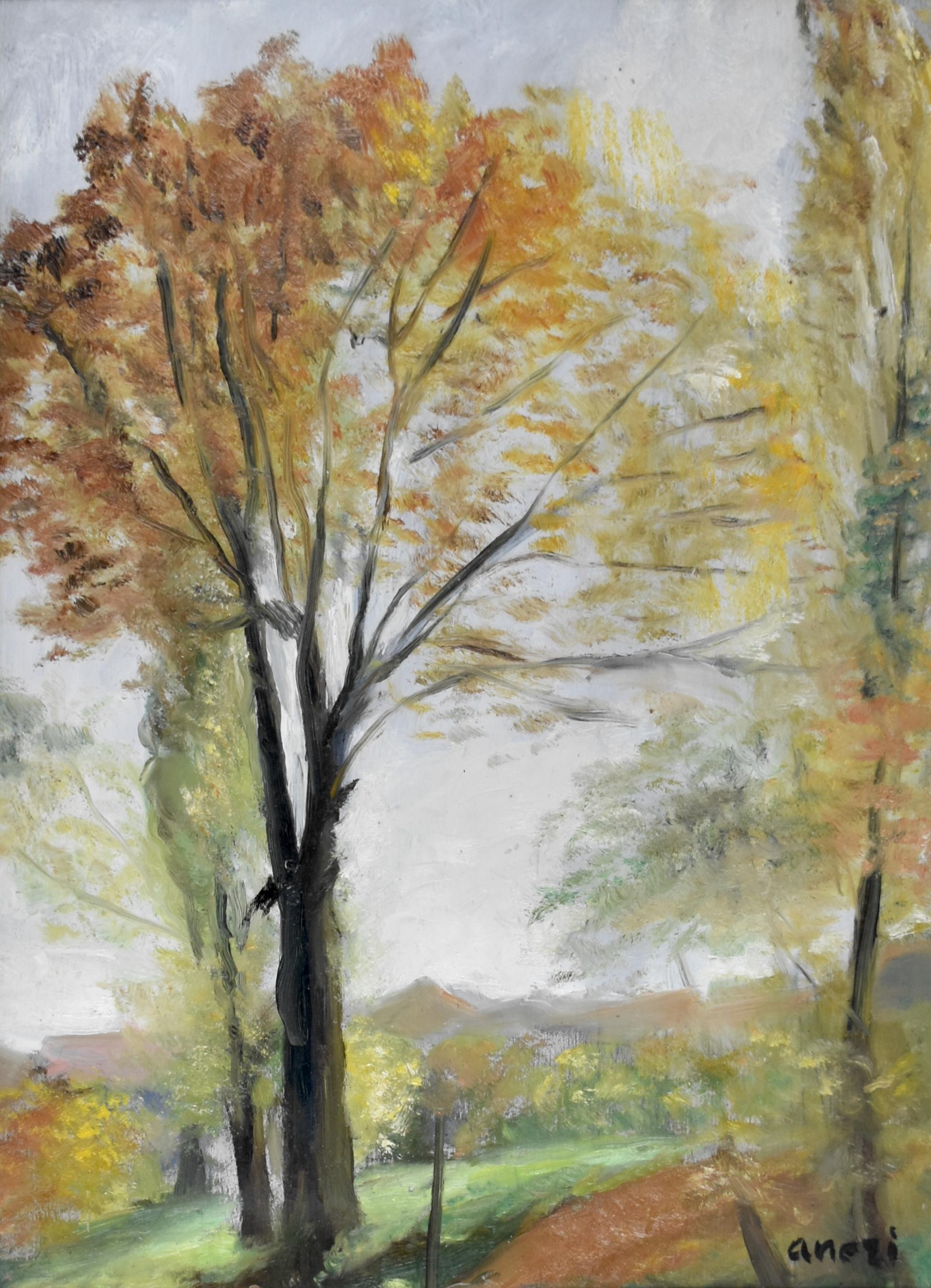 Jesienne drzewa, 1950
