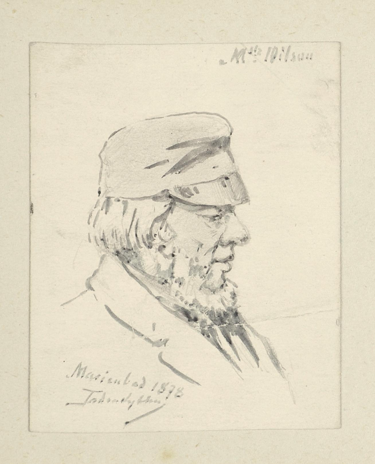 Mężczyzna w czapce, 1878
