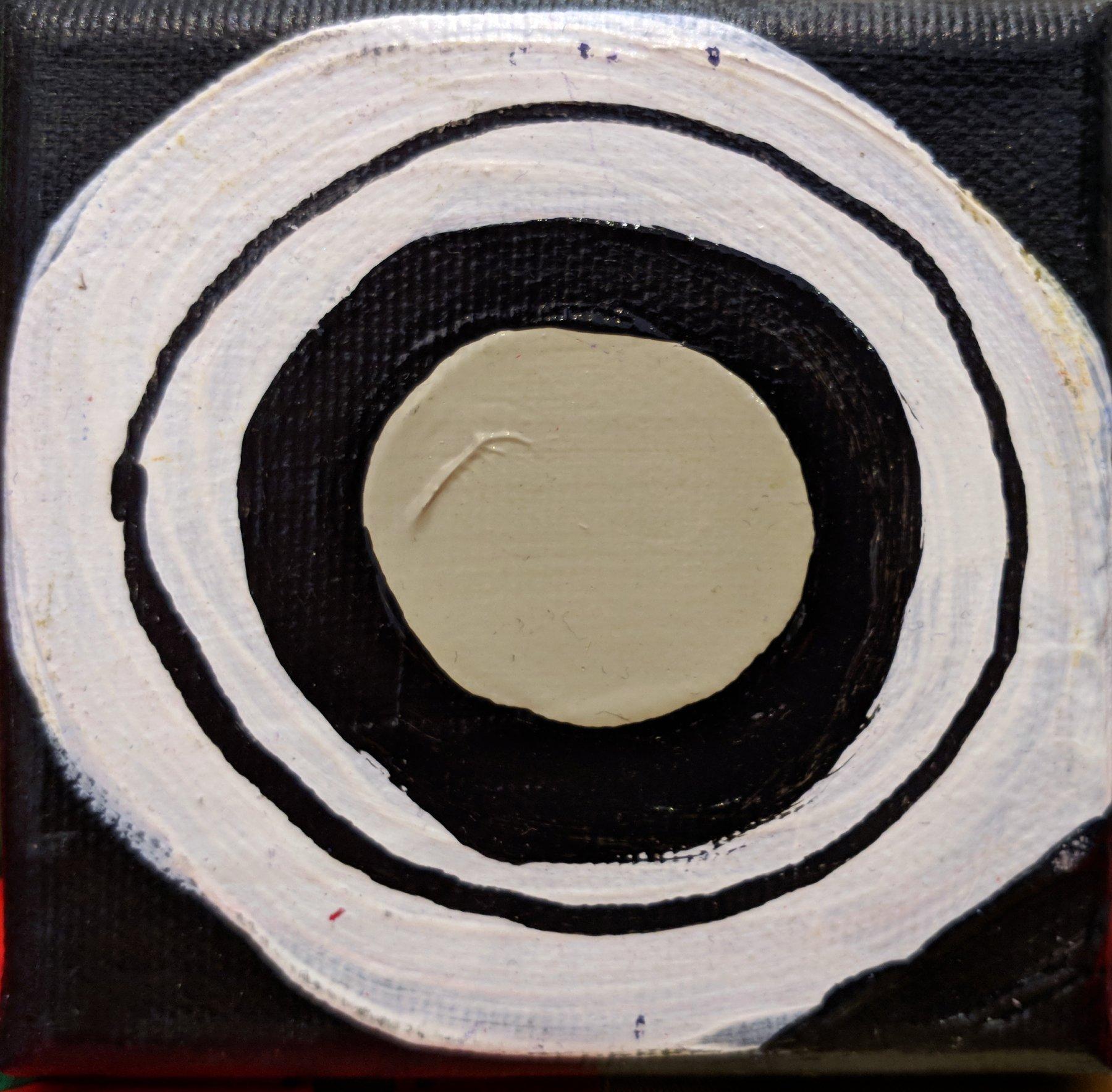 Gluon biało-czarny