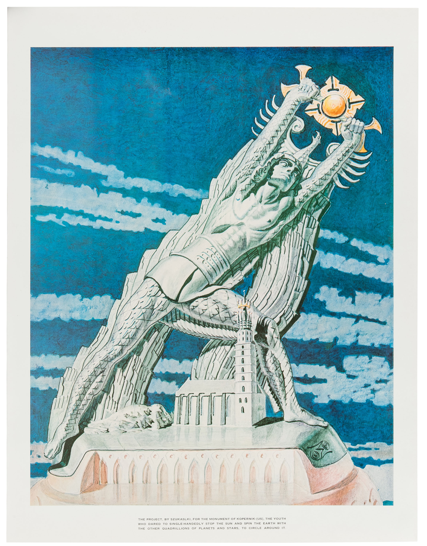 Pomnik Kopernika, 1973 r.