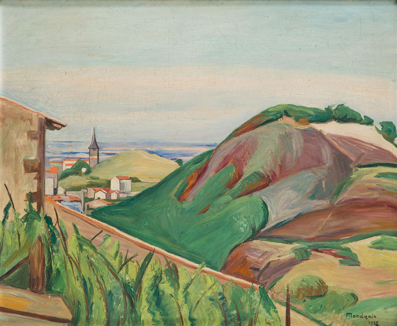 Miasteczko wśród wzgórz, 1928