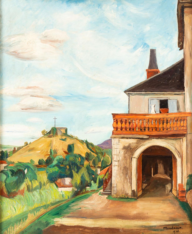 Pejzaż z południa Francji, 1926
