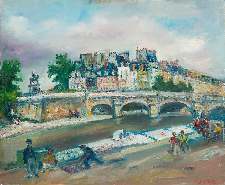 Pont Neuf w Paryżu