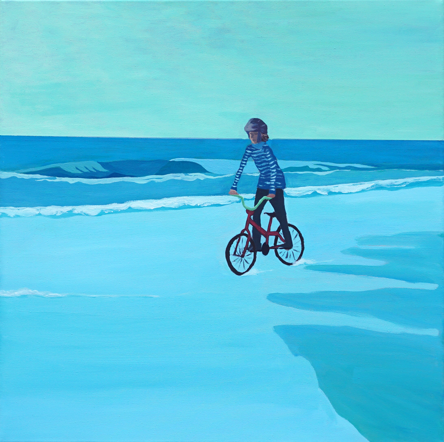 Bicycle On The Sea, 2020