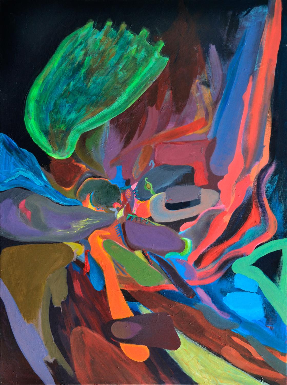 Flow 2, Abstract IIIb, abstract series, 2016