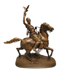 Sokolnik arabski na koniu