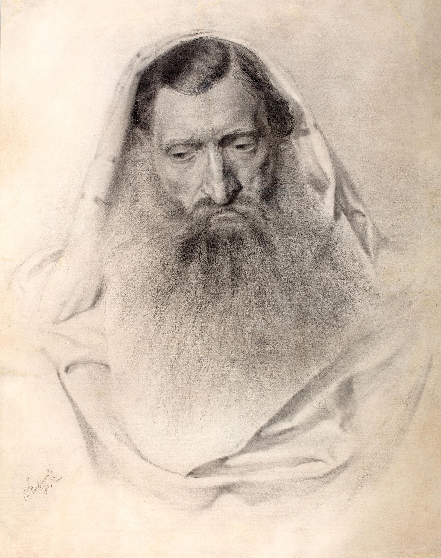 Portret Żyda, 1880 r.