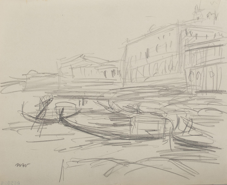 Wenecja - gondole