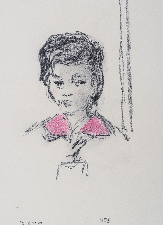 Portret kobiety, 1958 r.