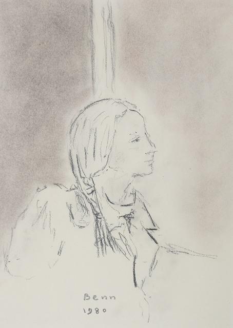 Profil kobiety, 1980 r.