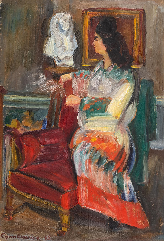 Portret kobiety, 1945 r.