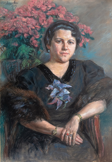 Portret Heleny Mond, 1937 r.