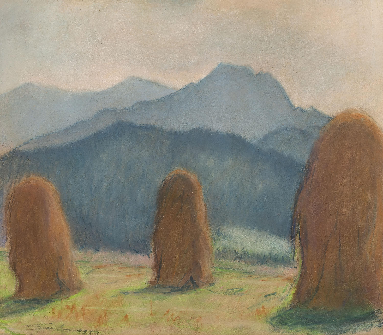 Motyw z Podhala – Stogi, 1957