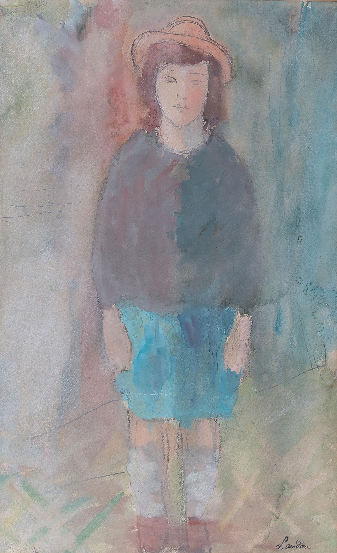 Portret dziewczynki, 1936 r.